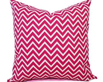throw pillow cover hot pink and white pillow decorative. Black Bedroom Furniture Sets. Home Design Ideas