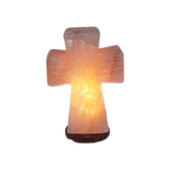 What Size Salt Lamp Do I Need : Himalayan Salt Lamp Standing Cross Large by SaltandLightTheWorld