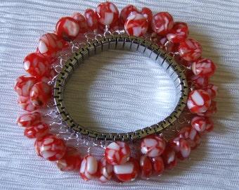 Mother of pearl expansion bracelet 0059SB