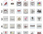 Floating Charms for Glass Living Memory Lockets DIY Locket Bracelet Accessories AL-24