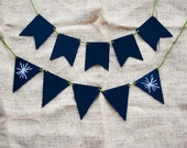 5 Small Chalkboard Pennants: 2 New Sizes & Shapes!