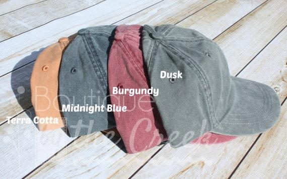 cheap monogram baseball hat monogrammed hats etsy cap ladies pigment dyed fast ship wool