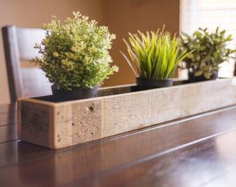 Rustic Planter Centerpiece