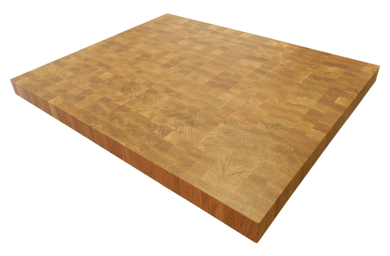 End Grain White Oak Butcher Block Countertop Island