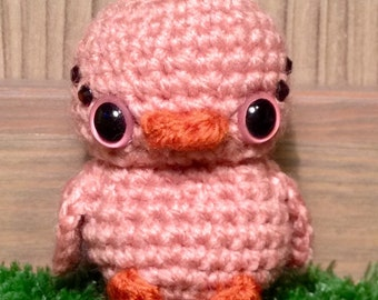 Amigurumi Pink Ducky