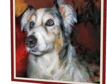 Australian Shepherd - Mr. Buttons Nightlight, from DoggyLips.Com