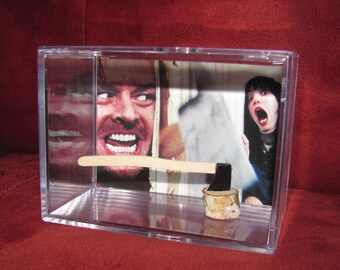 "Oh Danny...Daddy's Home! *The Shining* Collectible""Here's Johnny!! Axe Display/Not Jacks But it'll Do!!"