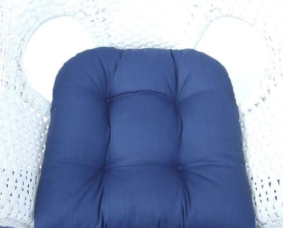 In Outdoor 19 X 19 Tufted Wicker Chair Patio