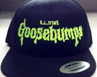 Goosebumps baseball cap ghost stories kids books
