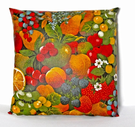 Outdoor - Indoor Waterproof Provence Pillow Cover Tutti Frutti ...