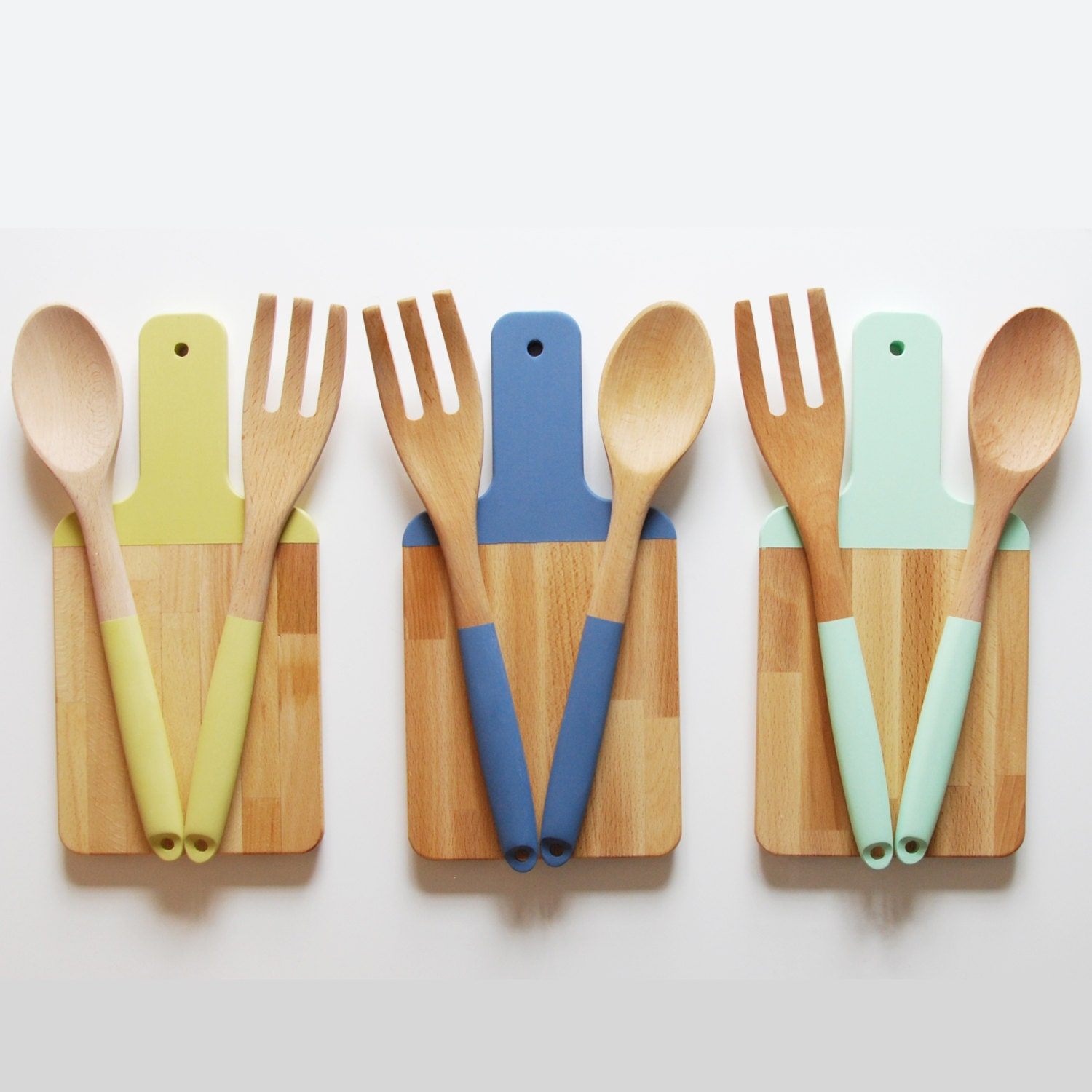 Paddle Cutting Board And Kitchen Utensil Set Choose By
