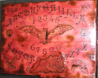 DELUXE Bat Spirit Board with planchette~ouija