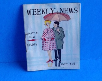 Vintage Ideal Tammy Doll Weekly News