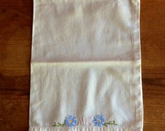 Embroidered Handmade Lingerie Bag