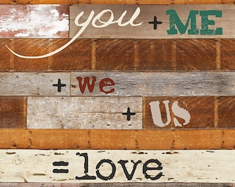 MA999 - You + Me + We + Us = Love