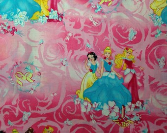 Personalized Disney Princess Pillowcases STANDARD SIZE