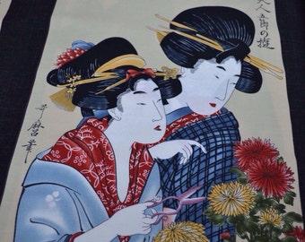 Geisha Panel VI from Kona Bay Cotton Quilting Panel
