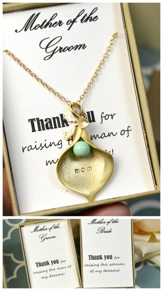 Wedding Gifts Mother Groom : Mother of the Groom Gifts, Bridal Party Gift, Bridal Party Jewelry ...