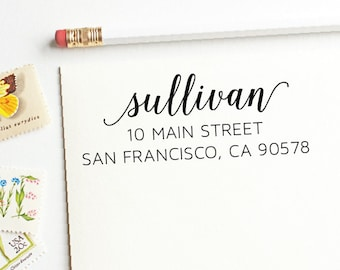 Custom Return Address Stamp - Self Inking Address Stamp