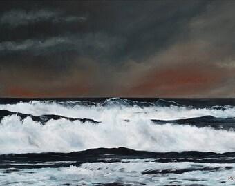 Scottish Seascape Stornoway Isle Of Lewis Scotland Giclee Print