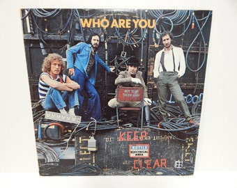 The Who Who Are You Vinyl Record LP