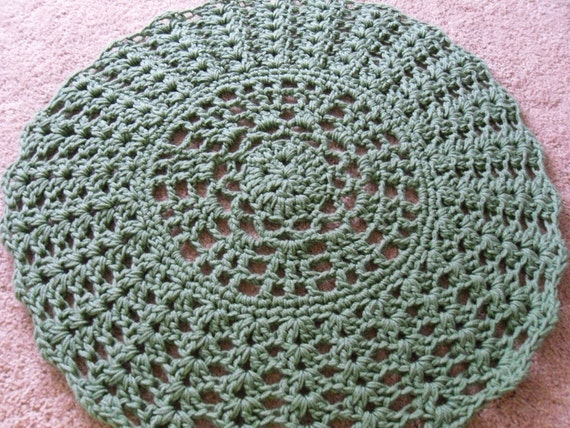 doily rug how to instructions