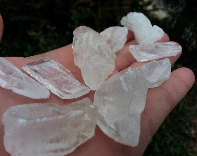 White Calcite ~ 1 medium/large Reiki infused rough stone