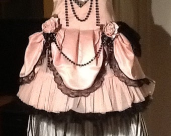 Saloon or showgirl costume