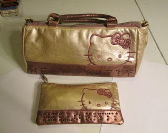 Hello Kitty Handbag and Pouch
