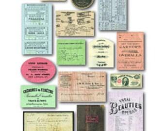 7gypsies Mini Ephemera Collection – Credentials