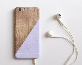 iPhone 6 Case  Wood Print Lavender  Geometric iPhone 5 Case lavender iphone 5s Case Pantone iPhone5 Case