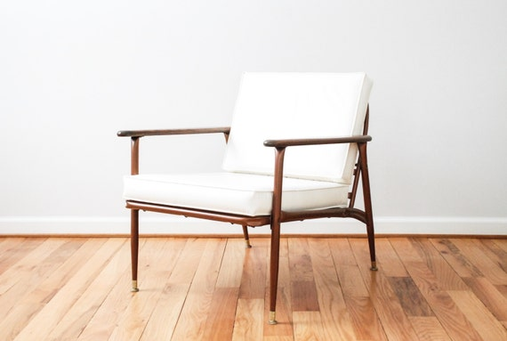 Mid Century Chair Danish Chair Mid Century Lounge Chair