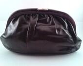 Vintage Brown Leather Clu...