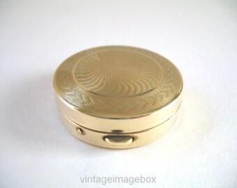 Tokalon vintage makeup compact miniature size, 1950s-1960s fashion