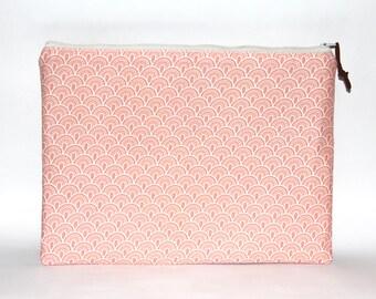 11 inch Laptop Case, MacBook 11 Sleeve,  Zipper Case, Mac Book 11 case, Handmade Padded Cover for MacBook 11