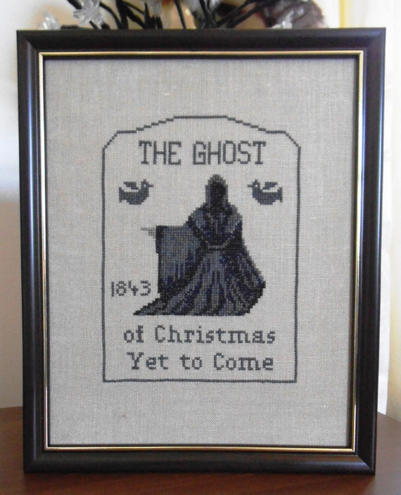The Ghost of Christmas Yet to Come Ghost Series 4 by StitchersAnon
