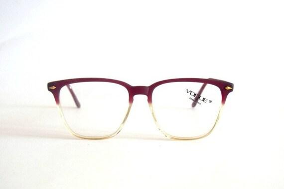 Eyeglasses Frames Vogue : Vintage Eye glasses frames Vogue mod. Ralph Nerd Hipster