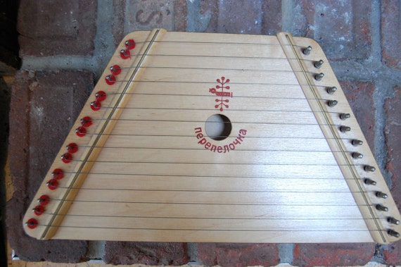 Tuning your 15-string zither or lap harp to G major. - YouTube