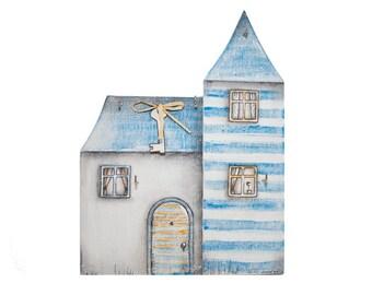 Wall Key Holder Castle in Winter Tales