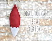 Red Fox Tail for Pretend Play - Costume - Kids - Adults - MADE TO ORDER