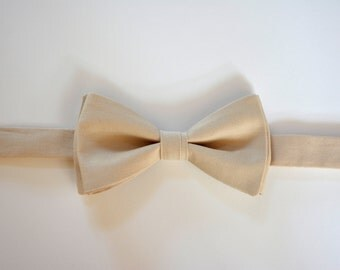 Bow Ties for men,khaki color bow tie