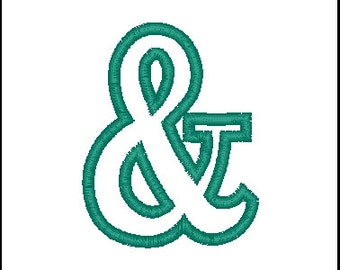ampersand embroidery aplique ampersand applique machine embroidery appli