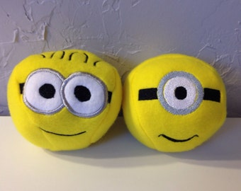 Minion Soft Balls set of 2