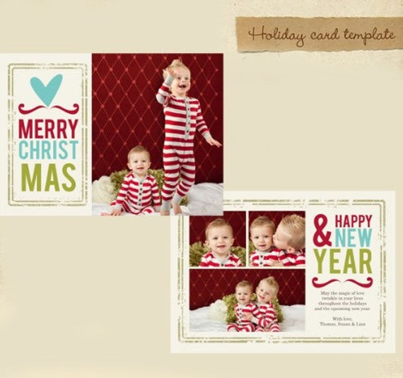 custom photo holiday card christmas card 5x7 or 4x6 card. Black Bedroom Furniture Sets. Home Design Ideas