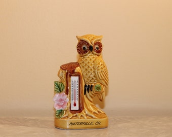 Owl Thermometer Souvenir
