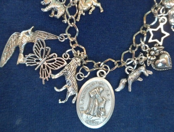st francis of assisi animal wolf of gubbio charm