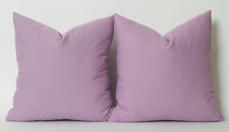 Light Purple Decorative Pillows : Light Purple Linen Pillow Cover ALL SIZE Accent Pillows