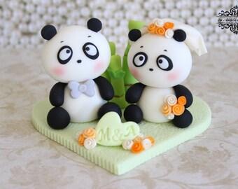 Panda wedding cake topperPanda Bride and Groom Wedding Toppers. Novelty Wedding Cake Toppers. Home Design Ideas