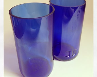 Upcycled Sherry Bottle Tumblers (Pair)