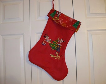 DISNEY CHRISTMAS STOCKING